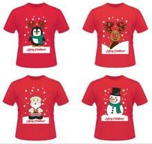 9e0eacfb234 New Funny Unisex Xmas Christmas Women Mens Cotton Xmas Print T shirt Tees  Tops Adult Mens Womens Santa Claus Top T-Shirt Clothes