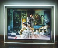 led module waterproof backlight led display advertising caja lightbox