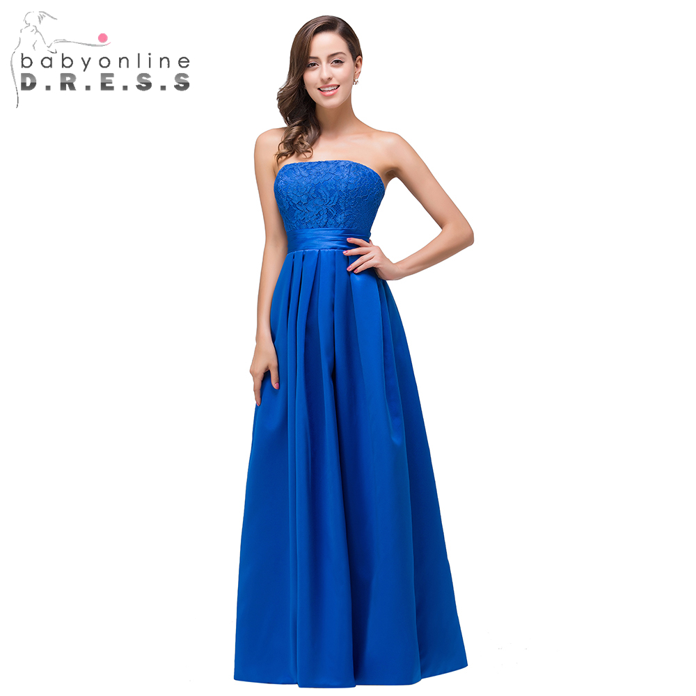Online Get Cheap Royal Blue Satin Dress -Aliexpress.com | Alibaba ...