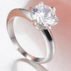 Новый Шарм подарок 925 пробы серебро Шесть зубец Установка TIFF привлекательная Элегантность Темперамент кольцо Мир ювелирные изделия