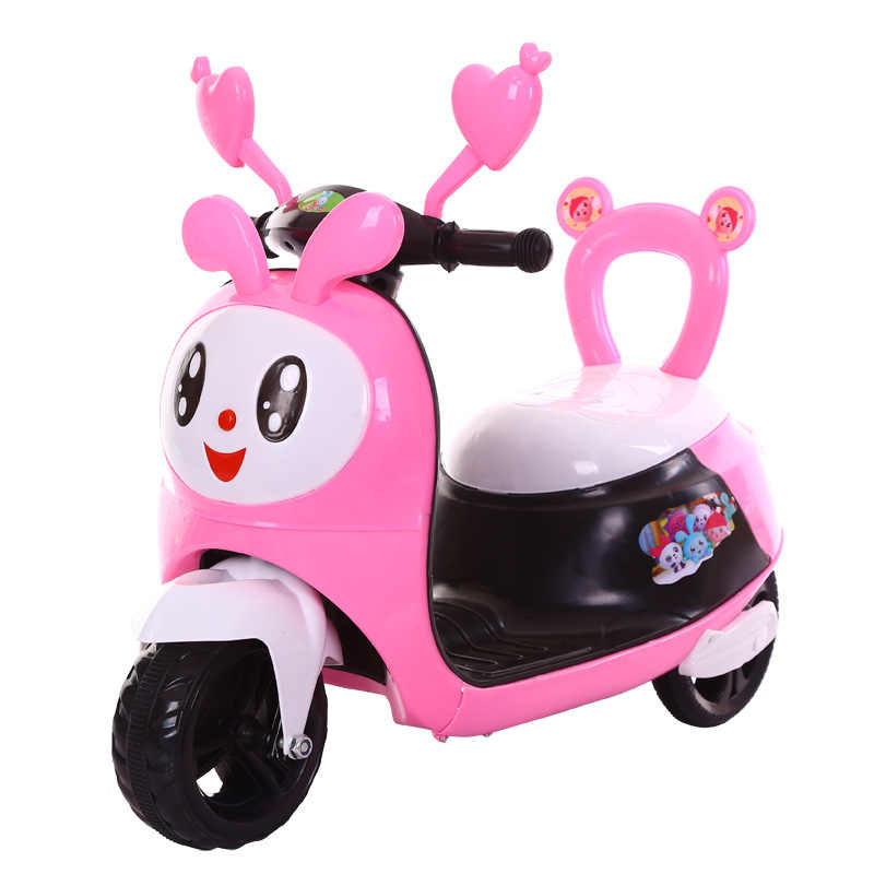 Children's Electric Motorcycle Tricycles 2-8 Years Old Babies Can Rid on Car  Baby Walkerwith Early Education Function