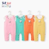 HHTU Newborn Baby Boys Girls Rompers Spring Autumn Infant Jumpsuit Sleeveless Cute Clothing Children Soft Cotton