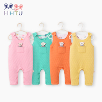 HHTU Newborn Baby Boys Girls Rompers Spring Autumn Infant Jumpsuit Sleeveless Cute Clothing Children Soft Cotton