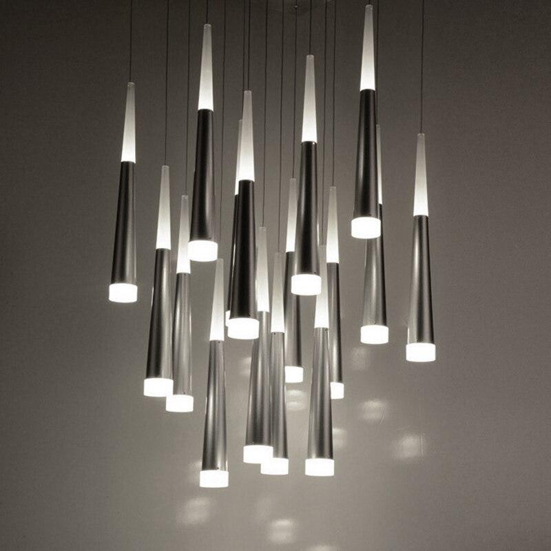 modern led pendant lights for dining room kitchen restaurant ...