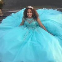 Princess Open Back Quinceanera Sweet 16 Dresses Celebrity Red Carpet Catwalk Special Occasion Gowns