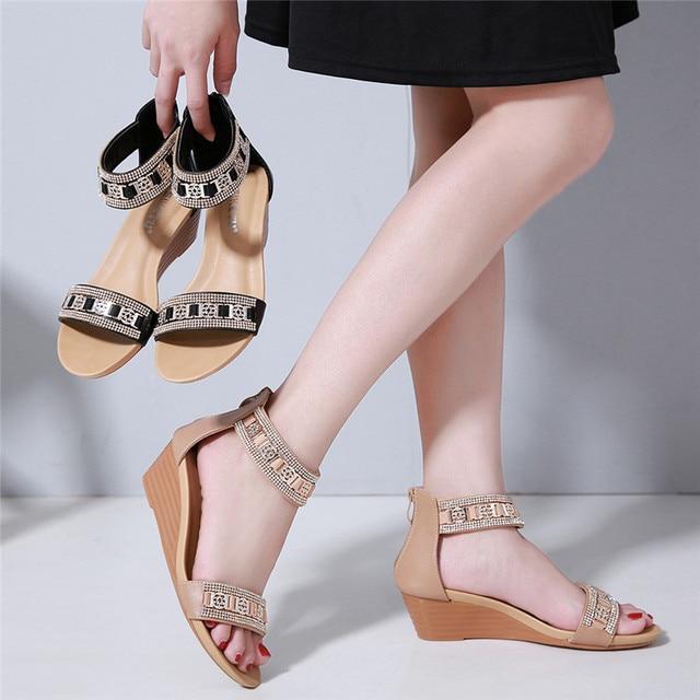 Bohemia De Zapatos 2019 Sandalias Moda Mujer Verano q1fawx7Y