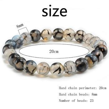 Natural Stone Black Dragon Bracelets4