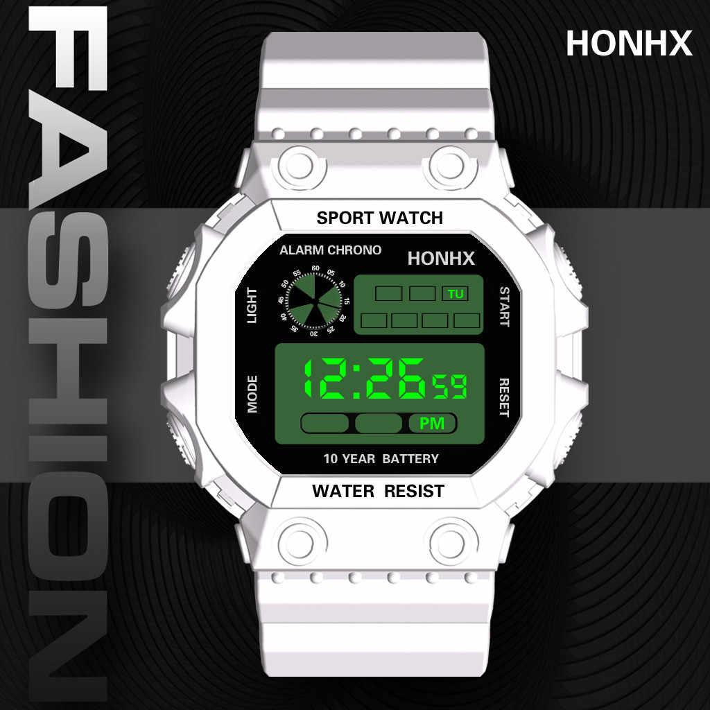 Reloj Hombre Digital Wanita Jam Tangan Analog Mewah Digital Outdoor Watch Militer Sport LED Tahan Air Olahraga Watch Reloj Mujer