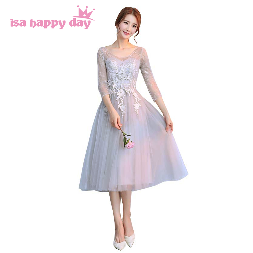 teen puffy formal gray sweet 16 tulle   dress   short sweetheart teens party time formals girl   prom     dresses   with lace H4181