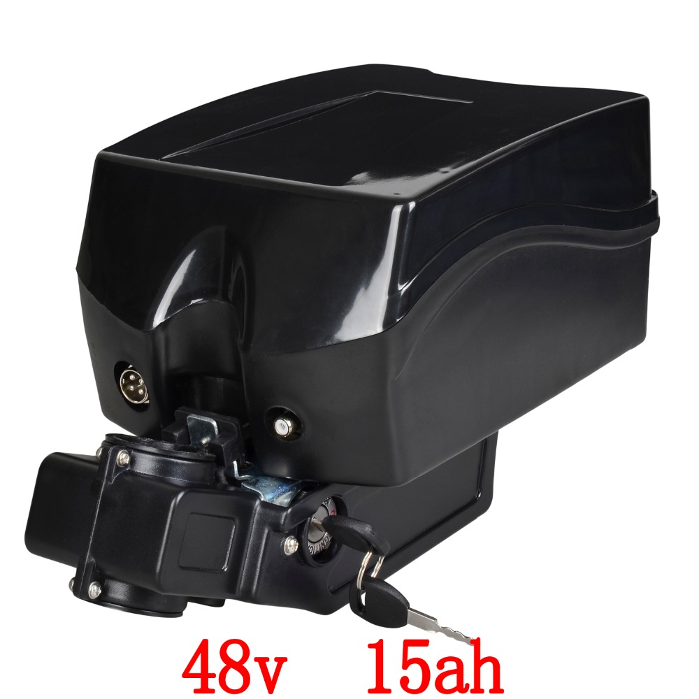 48V 1000W battery 48v 15ah lithium battery 48v 15ah electric bike Battery with 30A BMS and