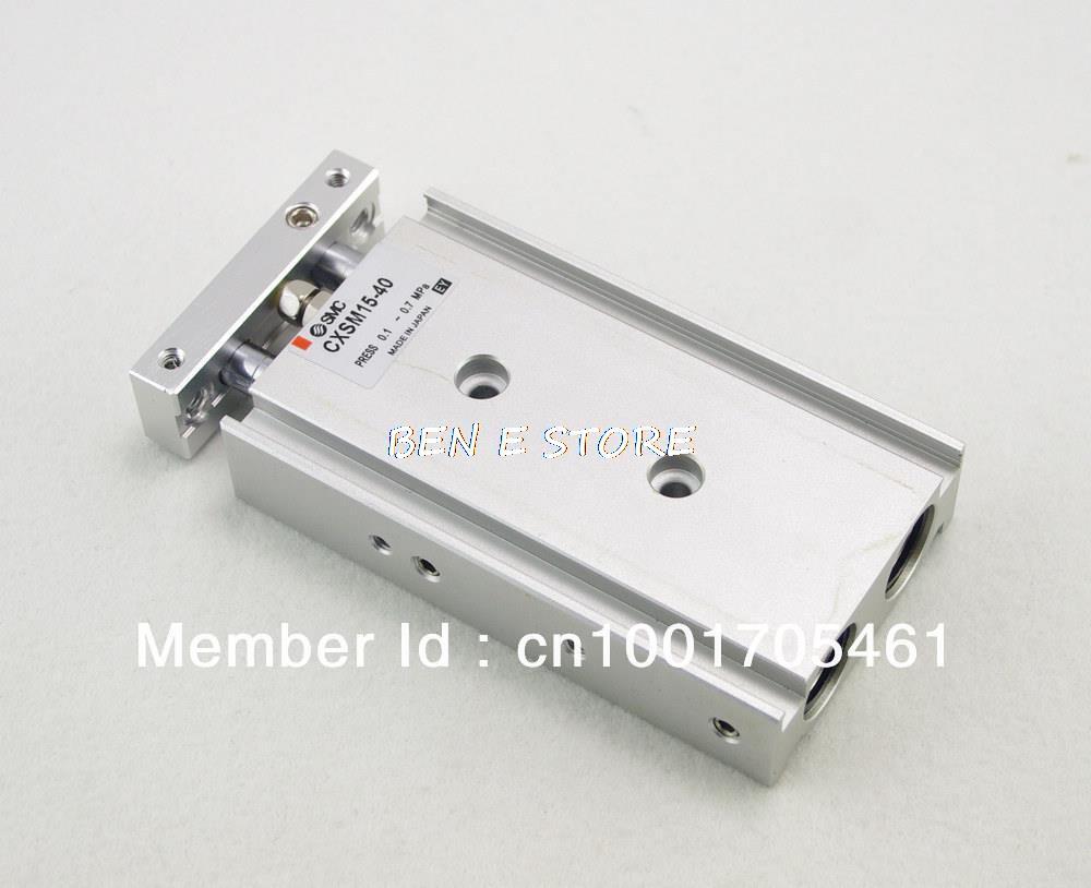 лучшая цена SMC Type CXSM 15-40 Compact Type Dual Rod Cylinder Double Acting 15-40mm Accept custom