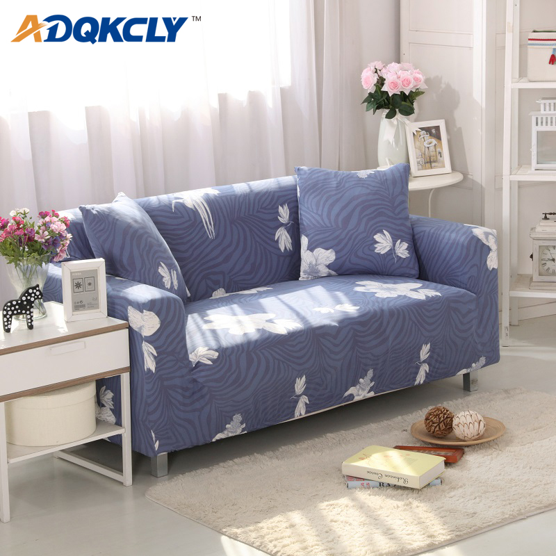 1-3 Seater Flora Stretch Sofa Cover Couch Elastic Tight Wrap Slipcover Protector