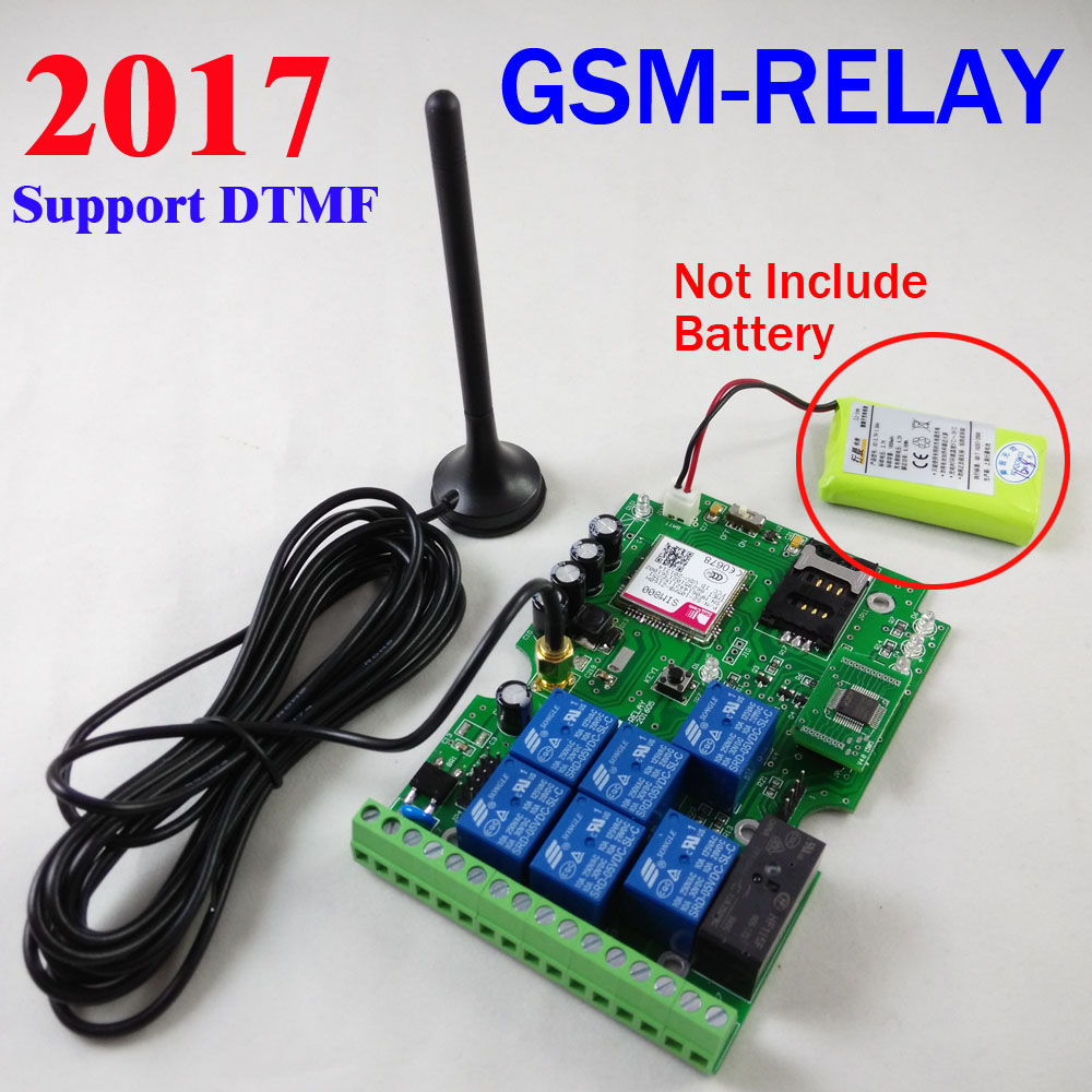 Aliexpress.com : Buy Free shipping GSM Relay Remote Control board ...