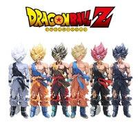 34cm Anime Dragon Ball Figure Black Big Goku Super Saiyan Son Goku Action Figure DBZ PVC Collection Model Toy