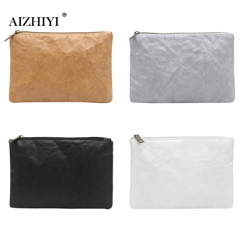 Retro Eco-Friendly Clutch Female Simple Solid Color Purse Women Makeup Bag Female Coin Bag Earphone Bag Clutch Dropshipping