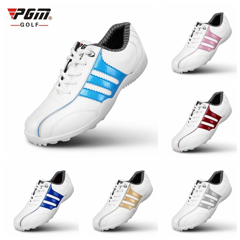 Brand PGM Adult Womens Ladies Girls Women Golf Sports Shoes Light & Breathable & Steady & Waterproof