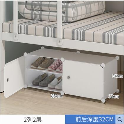 Wardrobe simple plastic cloth wardrobe clothes children's storage cloth steel pipe and thick single single steel frame storage