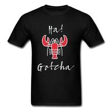 3D Printed Ha Gotch Lobster Tshirt For Male Short Sleeve Summer Tees Fashion O Neck All Cotton Tops Shirt Men Top T-shirts Funny altsheler joseph alexander the guns of europe