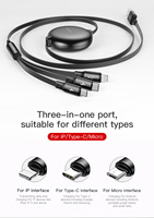 3 in 1 USB Charging Cable - Universal multifunctional USB charging Cable 14