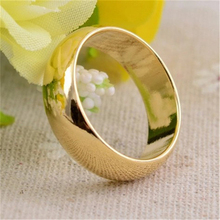 18 19 20 21mm Size Gold Cambered PK Ring Strong Arc Magnetic Magic Show Props Tricks High quality