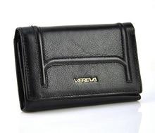 Frauen Echtes Leder Trifold Kurze Brieftasche Vintage Retro Design Marke Neue Geldbörse Kreditkarteninhaber Reißverschluss Münztüte Mode Dame