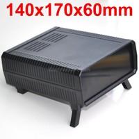 HQ Instrumentation ABS Project Enclosure Box Case Black 140x170x60mm