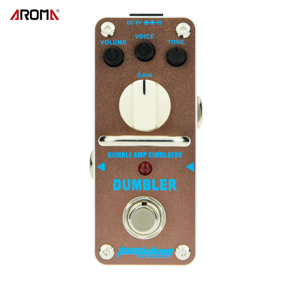 AROMA ADR-3 Overdrive Electric Guitar Effect Pedal True Bypass Warm tube natural overdrive sound Guitar Pedal женские часы boccia titanium 3178 01