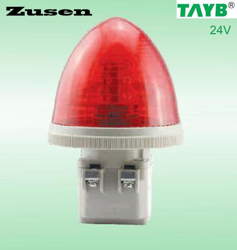 Zusen TB30-R-24V red Strobe Signal Warning Light LED Lamp small Light