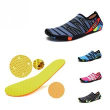 Unisex Sneakers Swimming Shoes Water Sports Aqua Seaside Beach Shoe Surfing Slippers Upstream Light Athletic Shoes For Men Women