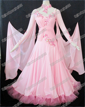 Modern Waltz Tango Ballroom Dance Dress, Smooth Ballroom Dress,Standard Ballroom Dress Girls B-0029