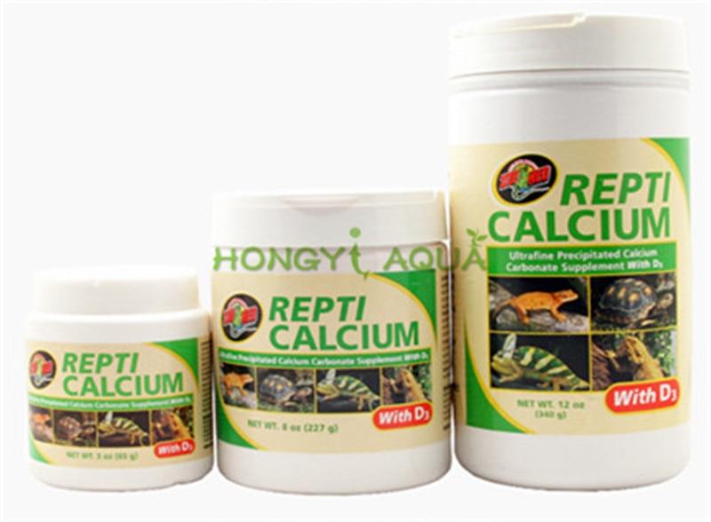 ZOOMED REPTI CALCIUM Reptile calcium powder Phosphate free calcium powder Climbing font b pet b font