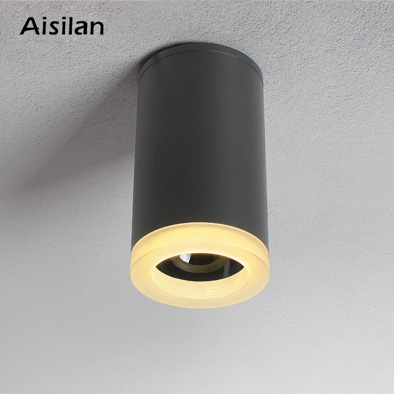 Nordic LED ceiling light aluminum acrylic anti dazzle modern led down light for corridor bedroom kitchen foyer 7WNordic LED ceiling light aluminum acrylic anti dazzle modern led down light for corridor bedroom kitchen foyer 7W