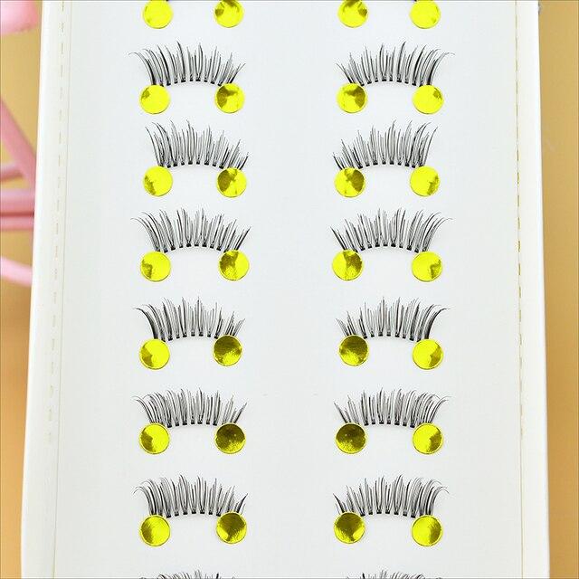10 Pairs Beauty Makeup Mini Half Corner Black False Eyelashes Natural Fake Eye Lashes Makeup Tools 4