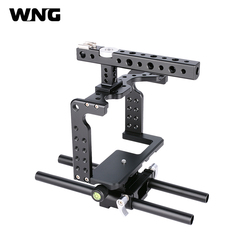 Small Rig with Top Handle DSLR Camera Cage for GH5 Camera Rig