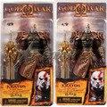 """Frete grátis NECA fresco 7.5 """" God of War Kratos em Ares armadura com The Blade of Olympus jogo PVC Action Figure modelo coleção"""