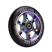 משלוח חינם! 2PCS 110mm פעלולים קטנוע גלגלי סגסוגת גלגלים