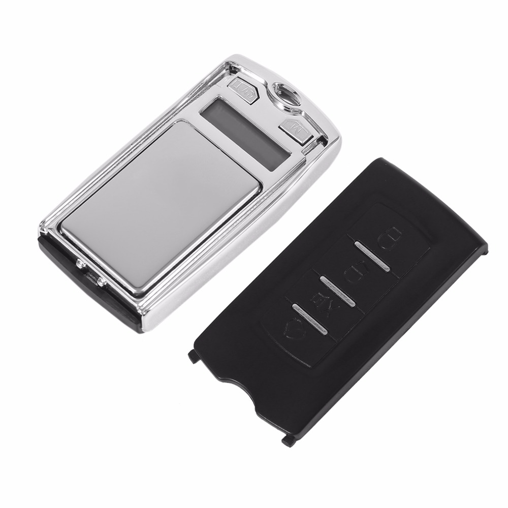 100g 0.01 Mini Balanza Digital de Bolsillo Balanzas Electrónicas LCD con Sensor