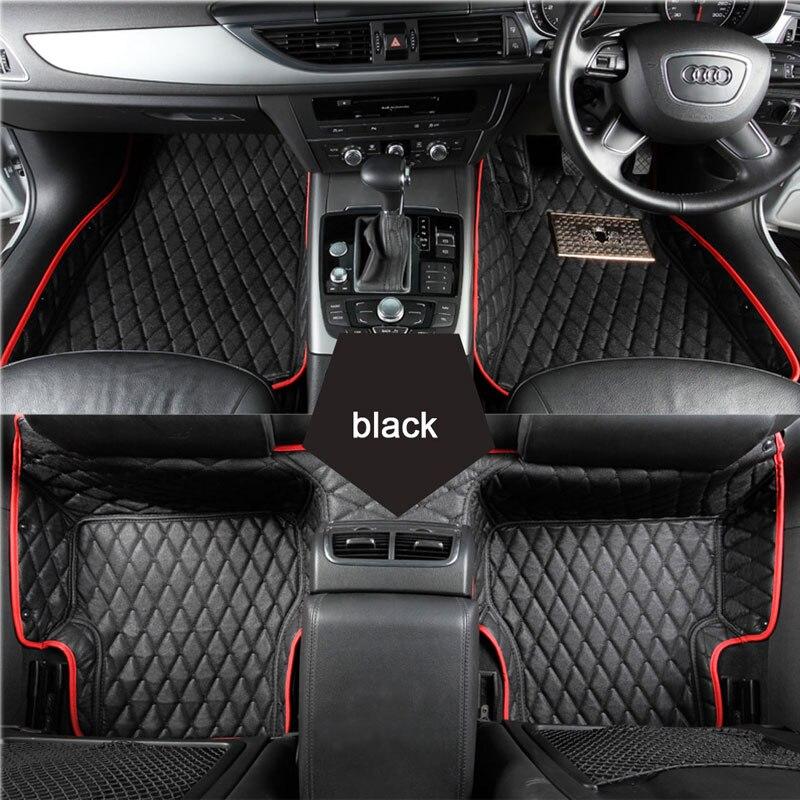 Custom fit car floor mats for Renault Scenic Fluence Koleos Laguna Megane cc Talisman 3D car styling carpet floor liner куплю тормозные колодки на renault scenic rx4