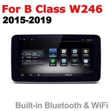 цена на Car Android Radio GPS Multimedia player For Mercedes Benz B Class W246 2015~2019 NTG stereo HD Screen Navigation Navi Media