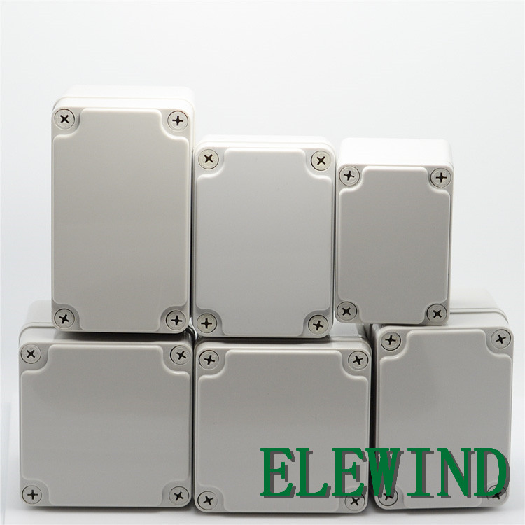 ELEWIND Plastic waterproof case box ABS resin push Button switch box IP65(M) 4pcs a lot diy plastic enclosure for electronic handheld led junction box abs housing control box waterproof case 238 134 50mm