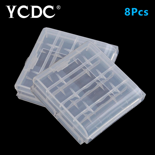 YCDC 8x AA and AAA Rechargeable Battery Accumulator Storage Bag Hard Box for Remote control car & YCDC 8x AA and AAA Rechargeable Battery Accumulator Storage Bag Hard ...