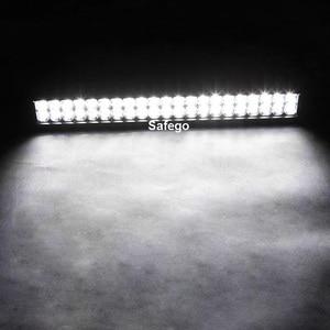 Image 3 - Safego 20 inch led light bar 126w work light for off road truck tractor boat suv atv driving working light 12v 24v combo beam