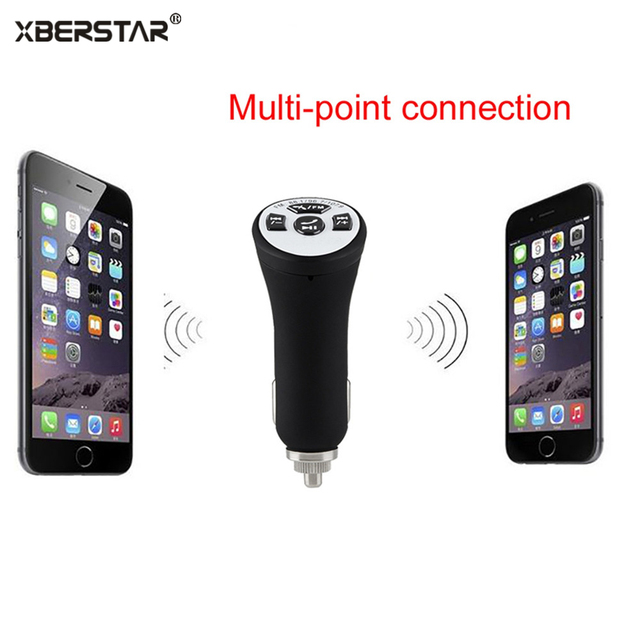 FM Bluetooth transmitter Wireless 3.0 A2DP Car AUX Stereo Audio Receiver Adapter USB Charger Hands Free Car Kit