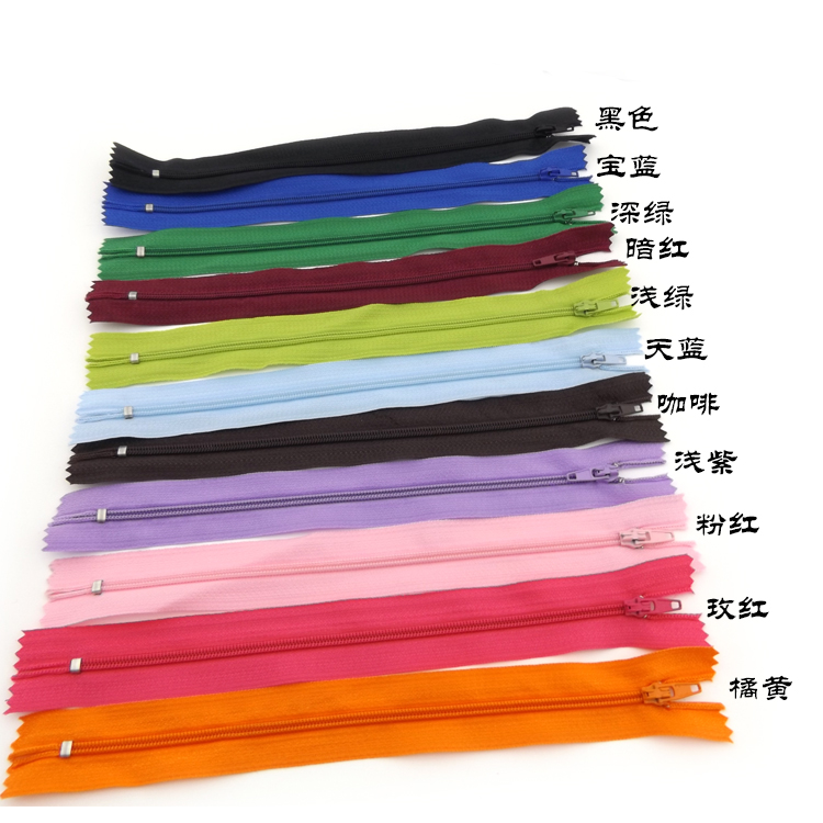 10pcs-Nylon Coil Zippers Tailor Sewer Crafts Crafter DIY Tools Practical Hot