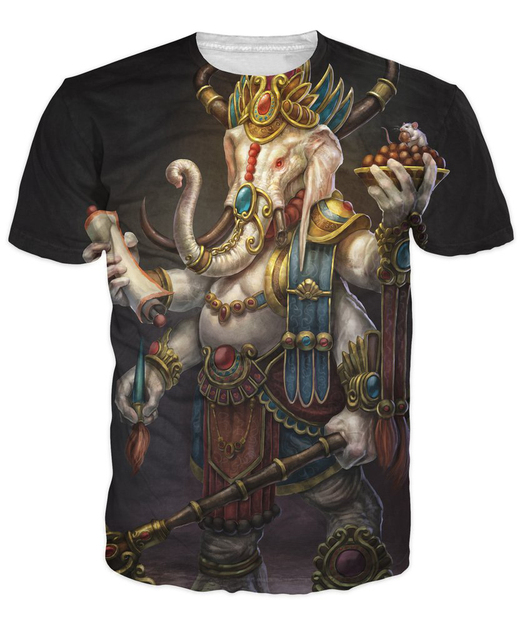 Elephant Lord Graphic T-Shirt