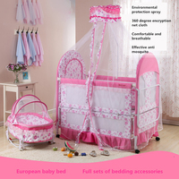 Holycat ткань детская железная кровать многофункциональный Экологичные ребенок кровать детская кровать колыбель кровать