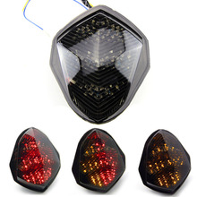 Для 03-04 Suzuki GSXR1000 GSXR 1000 K3 светодиодный Хвост Стоп Поворотники задние индикатор Integrated Предупреждение стоп-сигналы 2003 2004