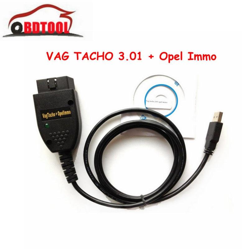 VAg-tacho 3.01 Opel-Immo USB COM install guide provided quality cable