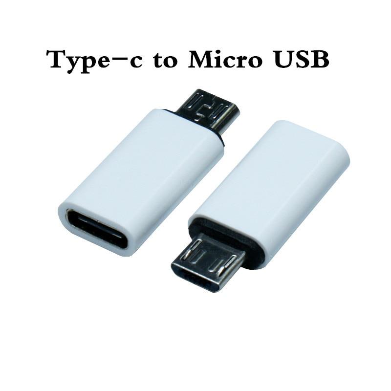 Tipo C Feminino para Micro USB Adapter Masculino Conector Conectar Futural Digital