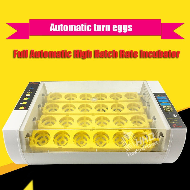 HHD Newest Best Farm Hatchery Machine 24 Egg Hatchers Cheap Price Chicken Automatic Egg Incubator China